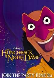 L'affiche du film Le bossu de Notre Dame