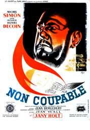 L'affiche du film Non coupable