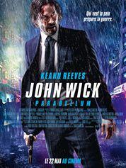 L'affiche du film John Wick Parabellum