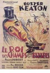 Affiche du film Le Roi des Champs Elysees