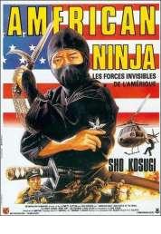 Affiche du film American ninja