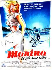 Affiche du film Manina la Fille Sans Voiles