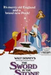 Affiche du film Merlin l'enchanteur