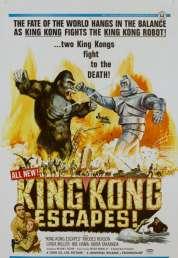 L'affiche du film La Revanche de King Kong