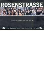 Affiche du film Rosenstrasse
