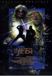 Affiche du film Star Wars  Episode 6 - Le Retour du Jedi