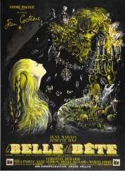 L'affiche du film La belle et la bête