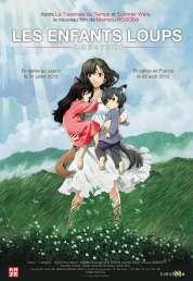 L'affiche du film Les Enfants Loups, Ame & Yuki