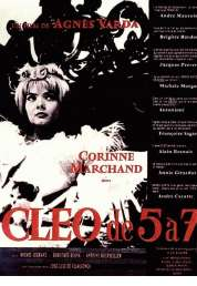 L'affiche du film Cléo de 5 à 7