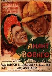 Affiche du film L'amant de Borneo