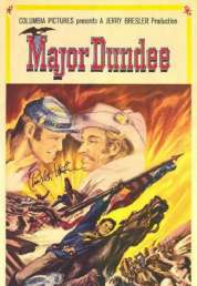 Affiche du film Major Dundee