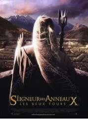 L'affiche du film Le Seigneur des Anneaux  Les Deux Tours