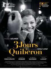 L'affiche du film 3 jours � Quiberon