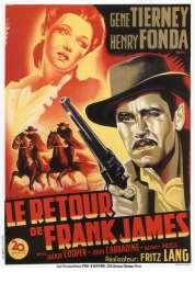 Affiche du film Le retour de Frank James