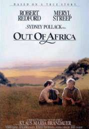 L'affiche du film Out of Africa