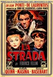 L'affiche du film La strada