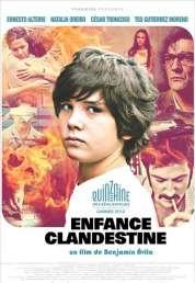 Affiche du film Enfance clandestine