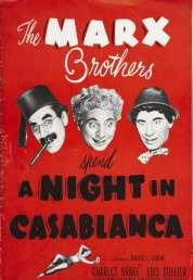 Affiche du film Une nuit à Casablanca