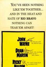 L'affiche du film Rio Bravo