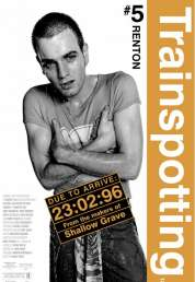 L'affiche du film Trainspotting