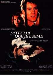 Affiche du film Dites-lui que je l'aime