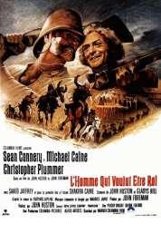 Affiche du film L'homme qui voulut être roi
