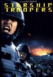 L'affiche du film Starship troopers