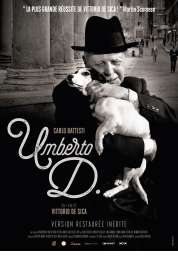 L'affiche du film Umberto D.