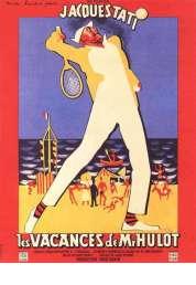Affiche du film Les vacances de Monsieur Hulot