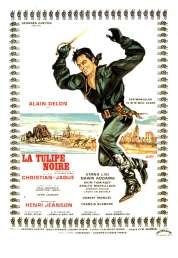 L'affiche du film La tulipe noire