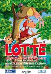 L'affiche du film Lotte, du village des inventeurs