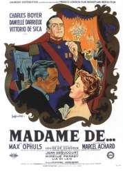 L'affiche du film Madame de...