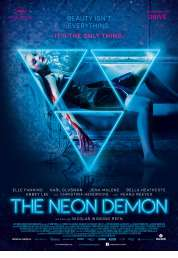 L'affiche du film The Neon Demon