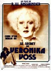 Affiche du film Le secret de Veronika Voss