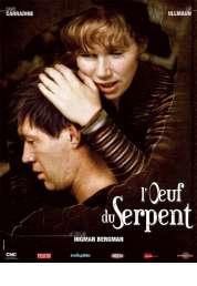 Affiche du film L'oeuf du serpent