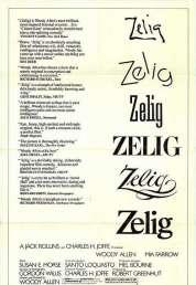 L'affiche du film Zelig