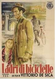 L'affiche du film Le voleur de bicyclette