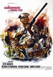 Affiche du film La canonniere du yang tse