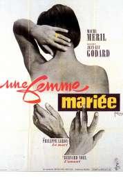 L'affiche du film Une Femme Mariee