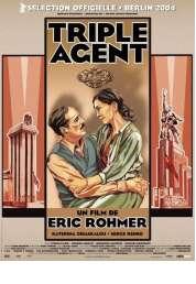 Affiche du film Triple agent