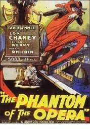 Affiche du film Le Fantome de l'opera