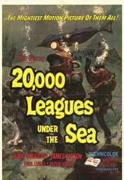Affiche du film 20 000 lieues sous les mers
