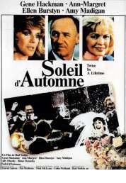 Affiche du film Soleil d'automne