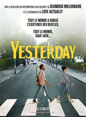 L'affiche du film Yesterday