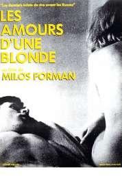 L'affiche du film Les amours d'une blonde