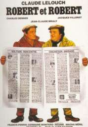 Affiche du film Robert et Robert