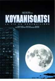 L'affiche du film Koyaanisqatsi