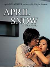 Affiche du film April snow