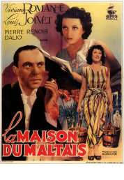 L'affiche du film La maison du Maltais