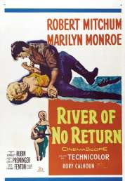 L'affiche du film Rivière sans retour